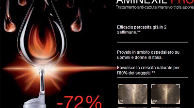 Dercos Aminexil Pro: tripla azione anticaduta