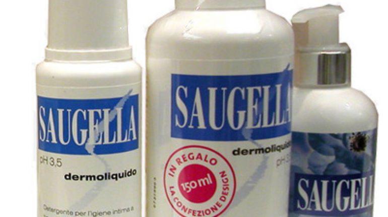 Saugella dermoliquido per l'igiene intima